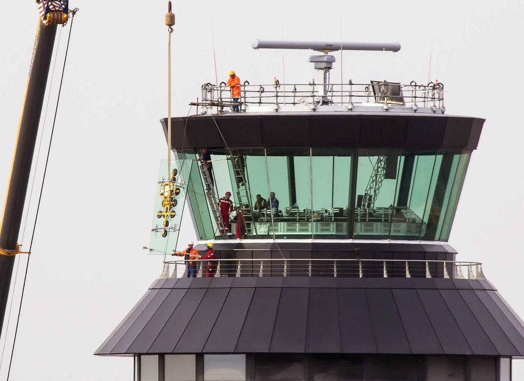 Air Traffic Control Tower Room replacement glass