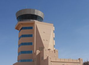 A Tex ATC air traffic control room