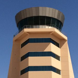 Military and civil airport air traffic control tower designers