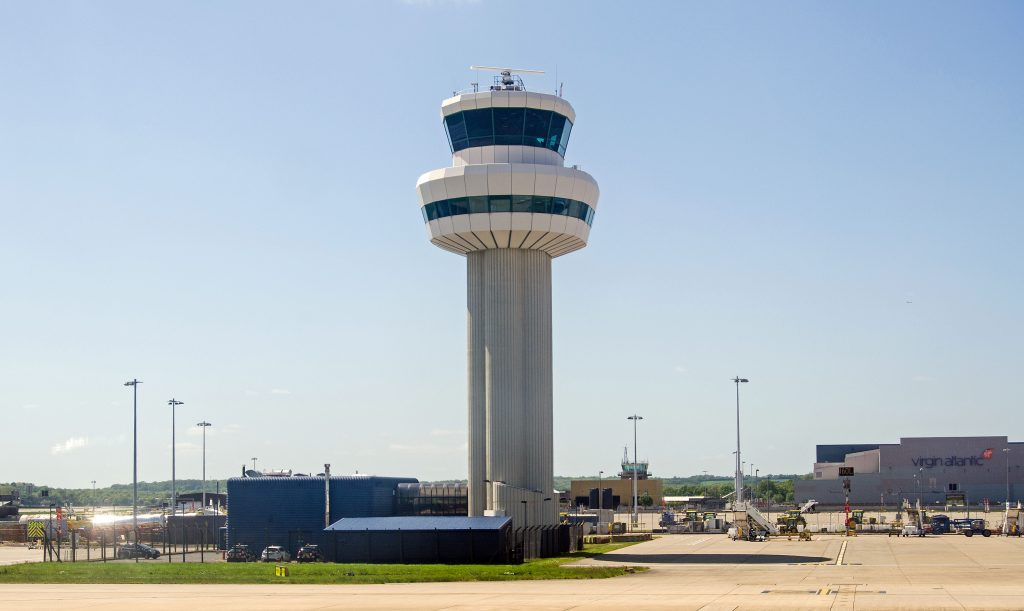 Air Traffic Control Tower Refurbishment solar blinds
